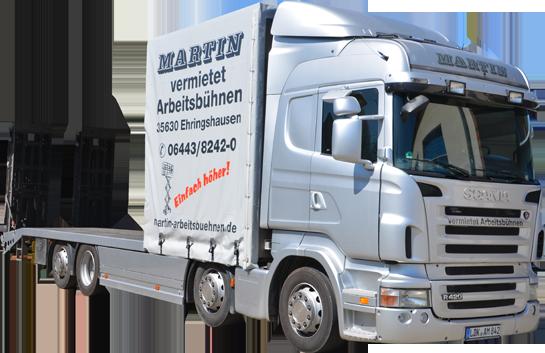 Martin © LKW Plateaufahrzeug 32.000 kg